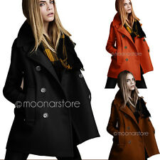 2014 Sxey Fashion Women Trench Warm Winter Coat Double Breasted Jackets Outwear