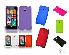 Nokia Lumina 635 Solid Color 2 Piece Hard Plastic Protector Cover Case