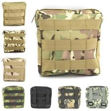 6*6 inch Square Military Sundries Bag Outdoor Zippered Key Pouch Mess Kit Bag
