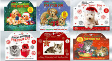 Pet Dog or Cat Christmas Advent Treat Food Calendar Gift
