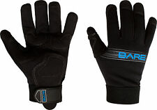 Bare 2mm Tropic Pro Scuba Diving Dive Gloves All Sizes