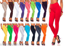 Womens Full Length Thick Cotton Leggings Size 8-26