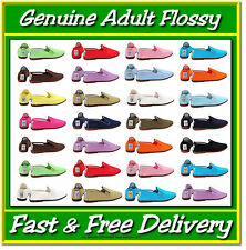 Flossys Flossy Plimsoll Shoes All Colours Adult Sizes UK4 - UK 11 Plimsole