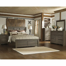 Signature Design by Ashley Juararo Dark Brown Panel Bed