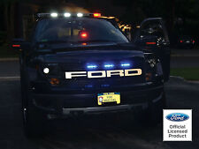 2010-2014 FORD RAPTOR F-150 REFLECTIVE GRILL LETTERS VINYL DECALS FORD LICENSED