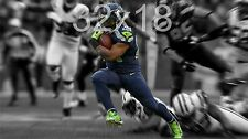 Seattle Seahawks Marshawn Lynch Poster Fine Art Repro Canvas or Photo Stock