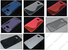 Multi Color S-Types TPU Silicone CASE Cover For HTC One M7