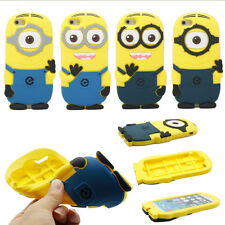 3D Despicable Me Minion Cute Soft Silicone Case Cover For Apple iPhone 6 4.7""