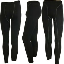 Mens Compression Athletic Long Pants Boys Tight Under Skin Sport Gear