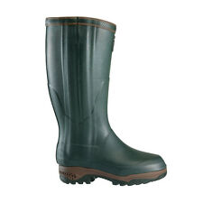 AIGLE PARCOURS 2 ISO OPEN WELLINGTON WELLIES BOOT NATURAL RUBBER HUNTING FISHING