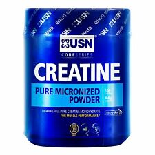 USN CREATINE MONOHYDRATE 100G 750G 1KG PURE MICRONIZED POWDER SUPPLEMENT MUSCLE