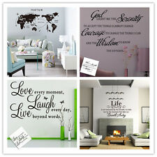 1PC Art Vinyl Wall Stickers Decal Mural Home Bedroom Parlor Kitchen Decor DIY
