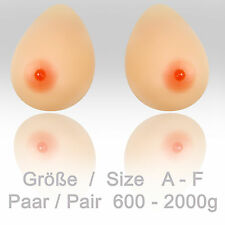 Silicone Breasts Teardrop Transgender CD Drops Size AE