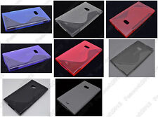 Multi Color S-Types TPU Silicone CASE Cover For Nokia Lumia 900