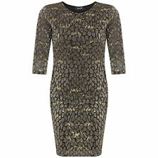 WOMENS NEW PLUS SIZE SEQUIN GLITTER EVENING PARTY DRESS 14 16 18 20 22 24 26 28