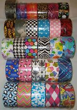 A-R Patterned Duck Brand Duct Tape Roll - 41 Pattern Choices