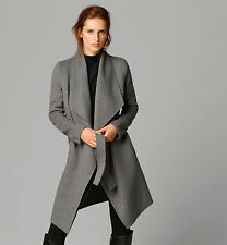 MASSIMO DUTTI (ZARA GROUP) BNWT GREY COAT WITH BELT ALL SZS 2014 A/W COLLECTION