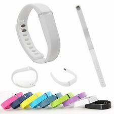 LARGE L Small S Replacement Wrist Band w/ Clasp Fitbit Flex Bracelet No Tracker