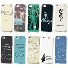 NEW HARRY POTTER HOGWARTS QUOTE HARD CASE COVER FOR APPLE IPHONE SAMSUNG