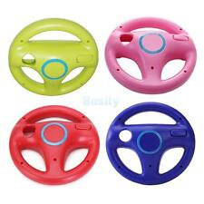 1x Steering Wheel for Nintendo Wii Mario Kart Racing Game Remote Controller