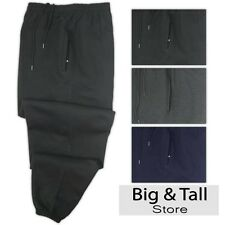 Big Men's Pennant Quality Heavy Sweat Pants Sizes 3XL - 10XL