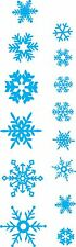 Christmas snowflakes Removable wall Stickers, Home decor, Wall Decals