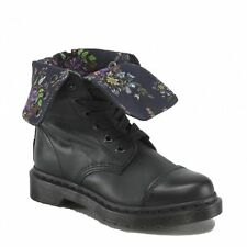 GENUINE DR MARTENS DOCS WOMENS BLACK AIMILITA AIMILIE TRIUMPH SOFT LEATHER BOOTS