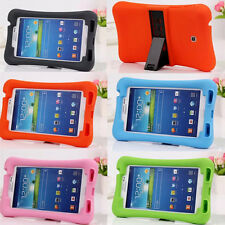 Kid Soft Silicone Shock Proof Case Stand for Samsung Galaxy TaB 3 7.0 P3200 T210