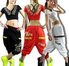 Women Brand Harem Hip Hop female Dance Pants Sweatpants Costumes sports trousers
