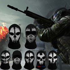Call of Duty 10 Ghost Sturmhauben Schädel COD Maske Hood Bike Kostüm Mask XBOX