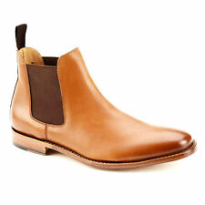 Harrytech London ( HT 7002 )  Mens Chelsea Goodyear welted Leather Sole Boots