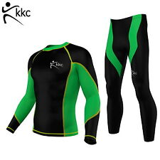 KKC Men thermal winter Compression Running suit Skin fit Bike/Cycling/Fitness