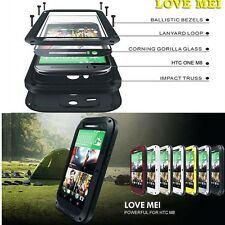 For HTC One M8 Tough Protective Case Cover GORILLA METAL SHOCKPROOF WATERPROOF