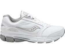 WOMENS SAUCONY ECHELON LE2 WHITE WALKING SHOES SNEAKERS SIZE 5-12 WIDE 15174-1