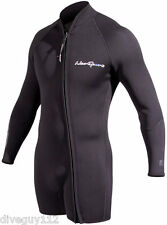 NeoSports Waterman 7mm Step-in Jacket Scuba Diving Wetsuit Men's Black All Sizes