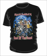 IRON MAIDEN BEST OF THE BEAST T-SHIRT 100% COTTON XMAS GIFT CHRISTMAS PRESENT