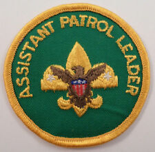 Bsa Boy Scout Uniform Patch Assistant Patrol Leader