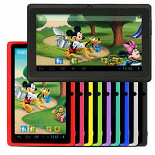 US Stock Quad Core 7'' Kids Tablet PC Android 4.4 KitKat Tablet for Children 4GB