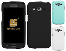 NEW RUBBERIZED HARD SHELL CASE PROTEX COVER FOR SAMSUNG GALAXY AVANT G386T PHONE