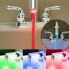 Three-Colored Changing Temperature Sensor LED Light Sprayer Water Faucet Tap