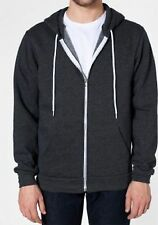 American Apparel Zip Hoodie Flex Fleece F497 NEW Hooded Sweatshirt  XXS-2X