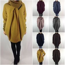 NEW QUIRKY Ladies Lagenlook Wool Cocoon Coat OSFM 10 12 14 16 18 20