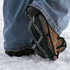 New! YAKTRAX WALK WALKER Black Snow Traction Shoe Boot Cleats Ice Anti-Slip!