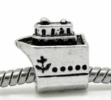 Cruise Ship European Charm Bead Nautical Plain Summer Beach Vacation Ocean