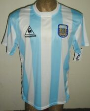 NEW VINTAGE WORLD CUP 1986 ARGENTINA MARADONA #10 RETRO SOCCER JERSEY HOME SHIRT