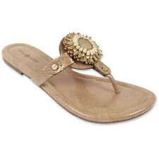 Lindsay Phillips Switchflops Interchangeable Snap Top ROSIE NEUTRAL Tan Sandal