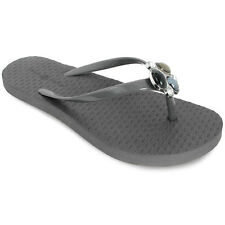 Lindsay Phillips Switchflops Interchangeable Snap Top KELLI GREY Stone Flip Flop