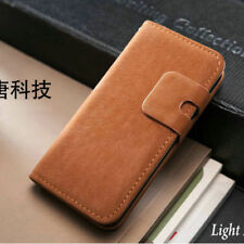 Luxury Flip Leather Wallet Case Cover For Apple iPhone 4 5 5S+Screen Protector