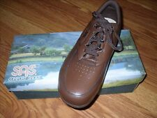 "Men's SAS ""Time Out"" Antique Walnut Casual Shoes  New in Box"