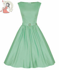 Lindy Bop 50's Audrey Hepburn Style Vintage Dress Pastel Green